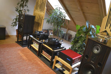 Interessantes Spendor/Viva/EAR/Nottingham Setup